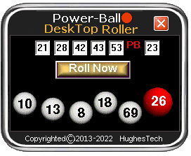 PowerBall Number Generator - HTech